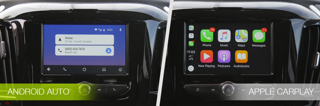carplay vs android auto differences