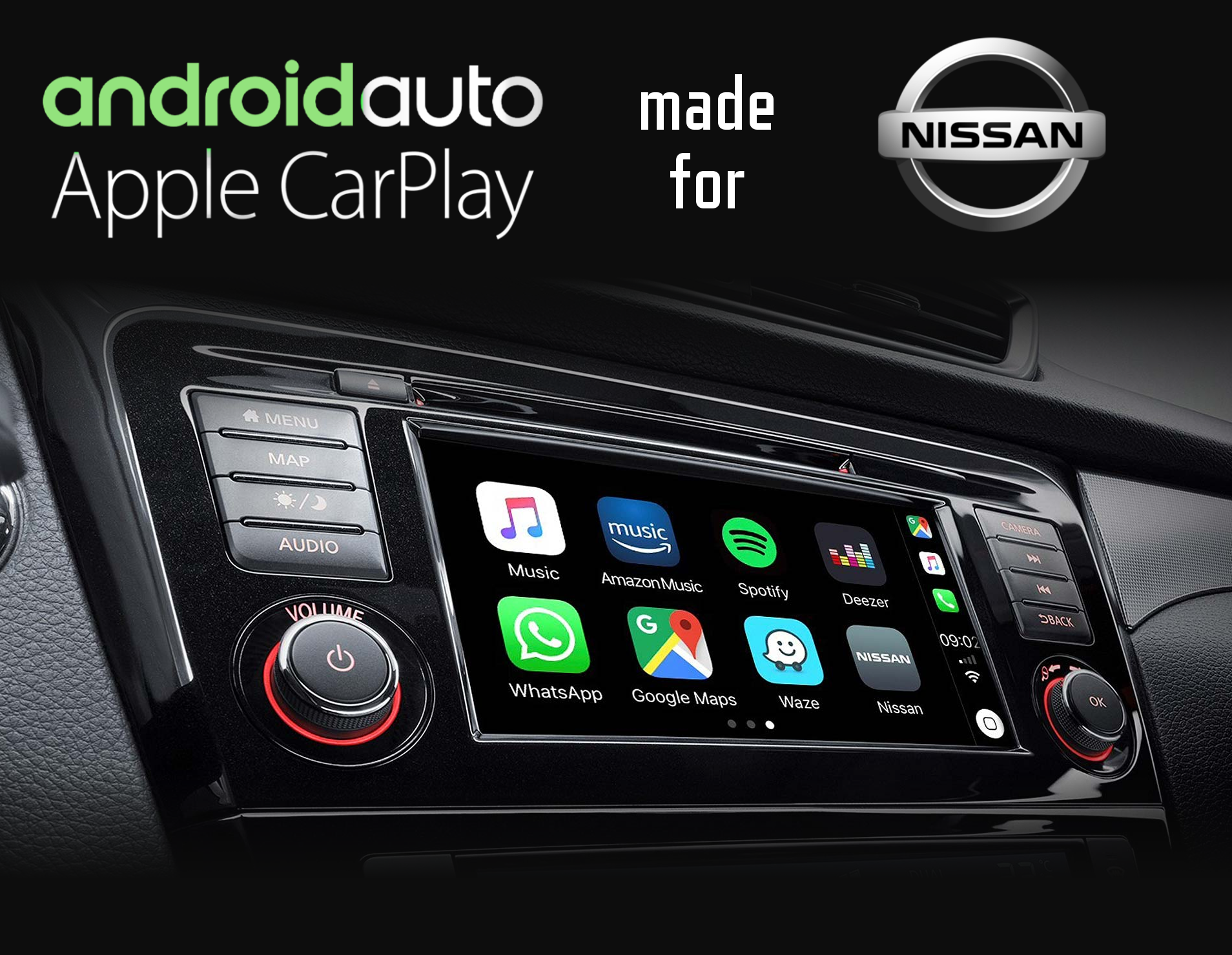 Nissan Specific Carplay And Android Auto Connected Car Solutions